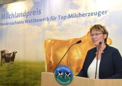 Niedersächsische Landwirtschaftsministerin Otte-Kinast