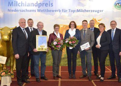 Familie Möller aus Bethen im Landkreis Cloppenburg belegte Platz 4.