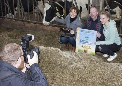Familie Groeneveld aus Emden freut sich über den 3. Platz