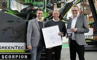 Agritechnica-Silber-Medaille für Scorpion-Auslegemäher von GreenTec