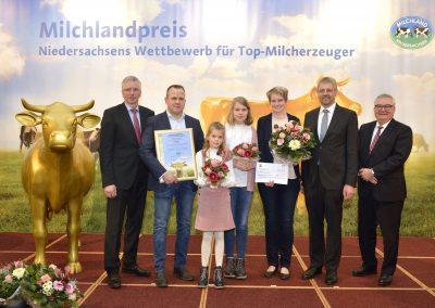 Der Hof von Familie Collmann aus Filsum in Landkreis Leer belegte den fünften Platz