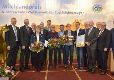 "Die Milchhof Fulde GbR aus Walsrode (Ortsteil Fulde) im Landkreis Heidekreis freut sich in diesem Jahr über die ""Goldene Olga 2019"""