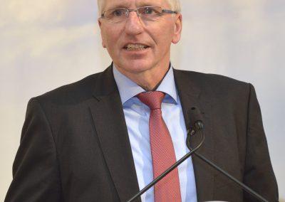 Herbert Heyen, stellvertretender Vorsitzender der Landesvereinigung der Milchwirtschaft Niedersachsen e.V.
