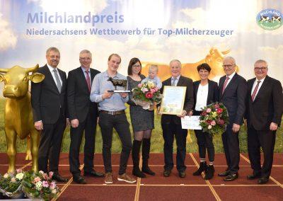 """Die """"Bronzene Olga"""" erhielt die Schulte GbR aus Löningen im Landkreis Cloppenburg."""